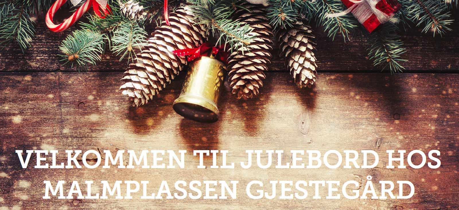 Velkommen til julebord på Malmplassen